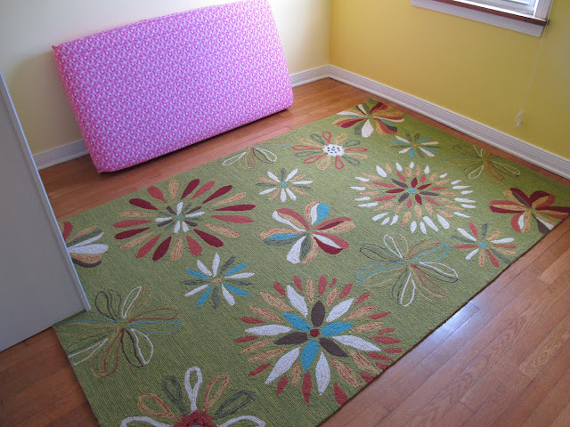 Stella's Floral Green Rug