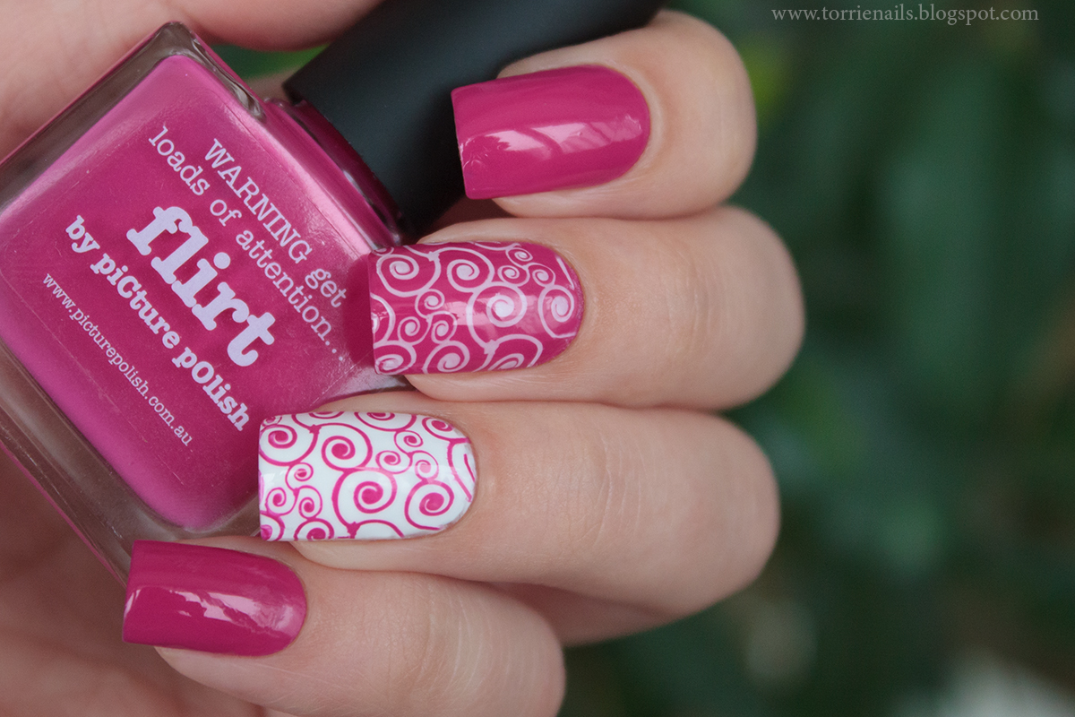 Picture Polish Flirt & Nogotok Gel Effect 04