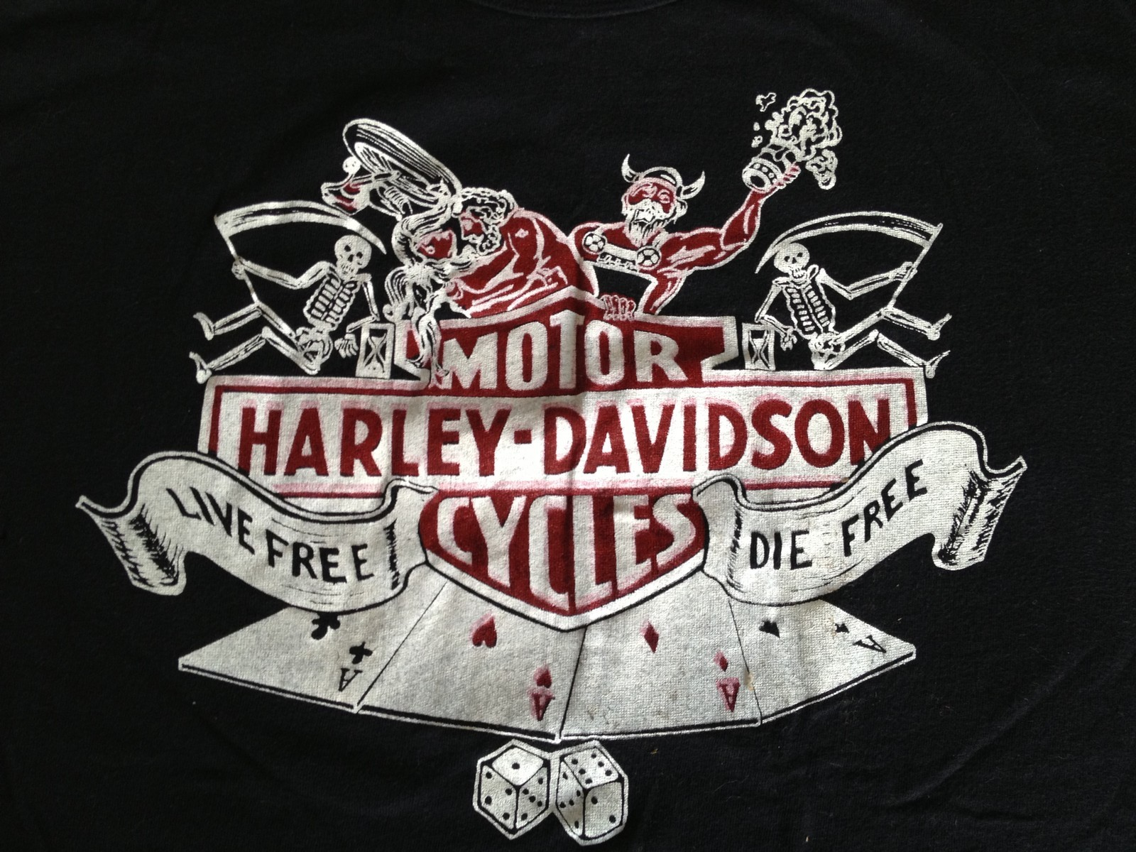 THRIFT SCORE...and more...: vintage Harley Davidson T-Shirts...