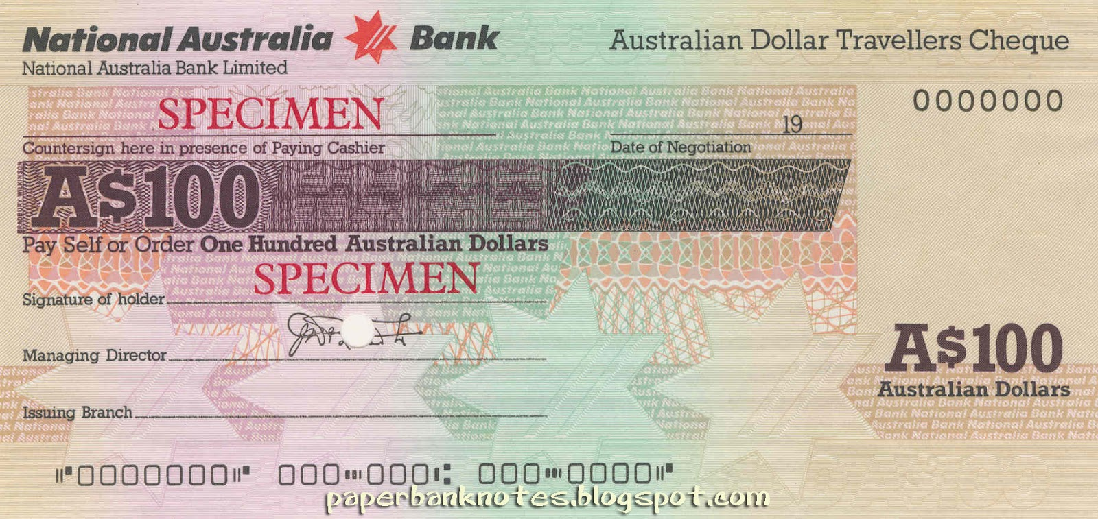 how to read a national australian bank cheque