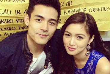 Xian Lim and Kim Chiu, courtesy Kim Chiu fb