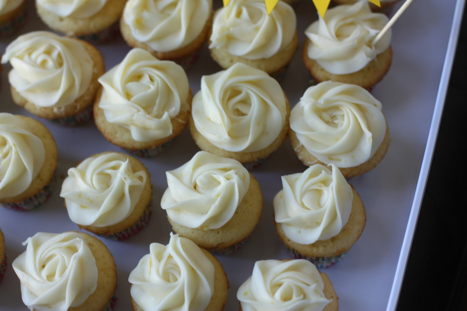 Lemon Cupcakes with Lemon Cream Cheese Frosting: Bittersweet | Week of ...