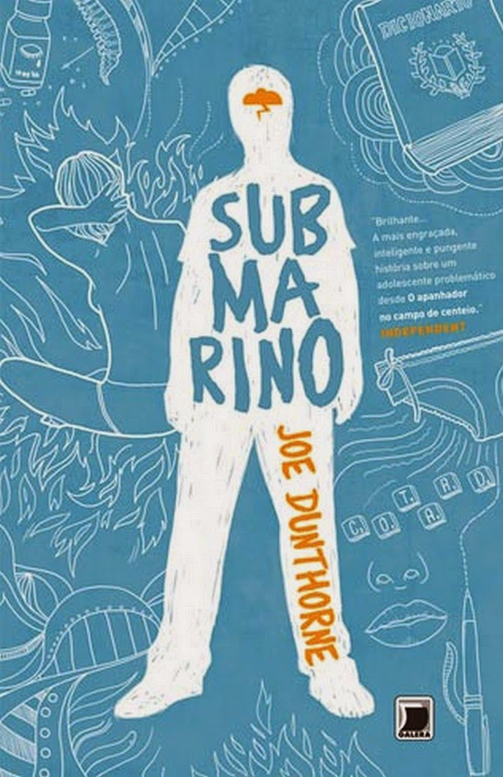 Capa - Submarino - Joe Dunthorne - www.silencioqueeutolendo.com.br