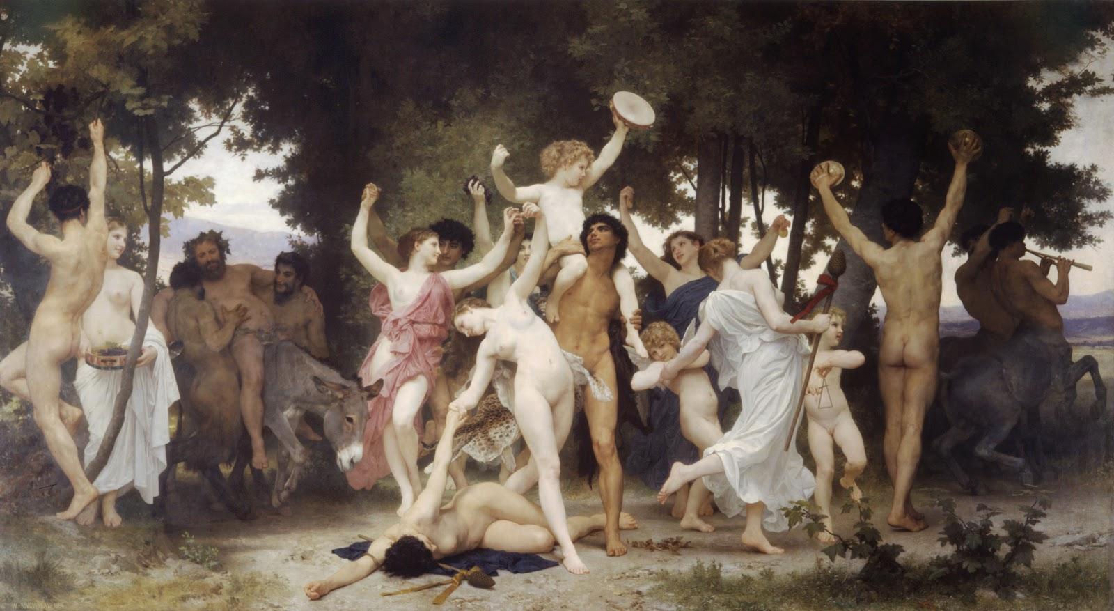 Los mejores relatos de la Mitología Griega 2+la_jeunesse_de_bacchus
