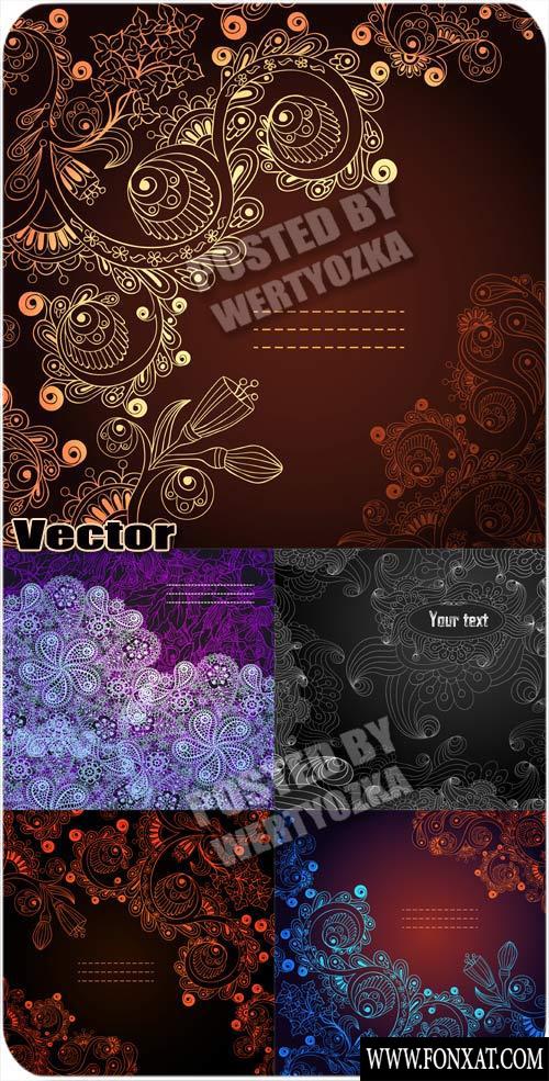 vector decoration مجموعة زخارف فيكتور رائعة مجموعة 24