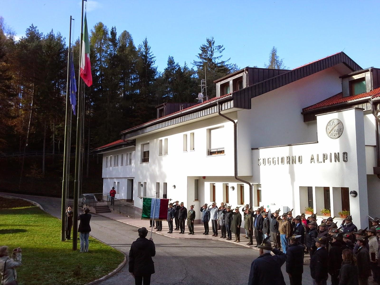 Ana la spezia riuniti a costalovara i referenti del for Soggiorno alpino costalovara