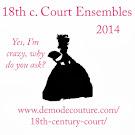 18th c. court ensemble icon