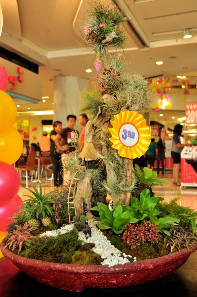 Dish Garden Designs at the 2nd Flora Mindanao at SM Davao Davao