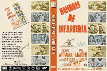 Carátula dvd: Hombres de infantería (1953) (Take the High Ground!)