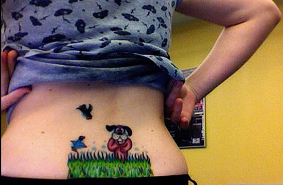 25 Creative Tramp Stamp Tattoos Damn Cool Pictures