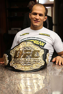 ufc mma heavyweight fighter champion junior dos santos picture image