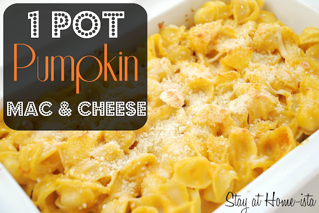1 pot Pumpkin mac and cheese
