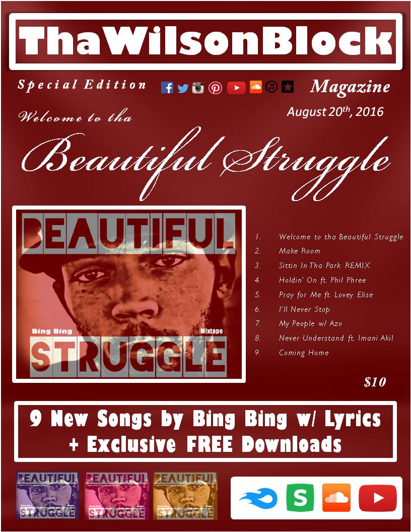 ThaWilsonBlock Magazine SPECIAL EDITION presents