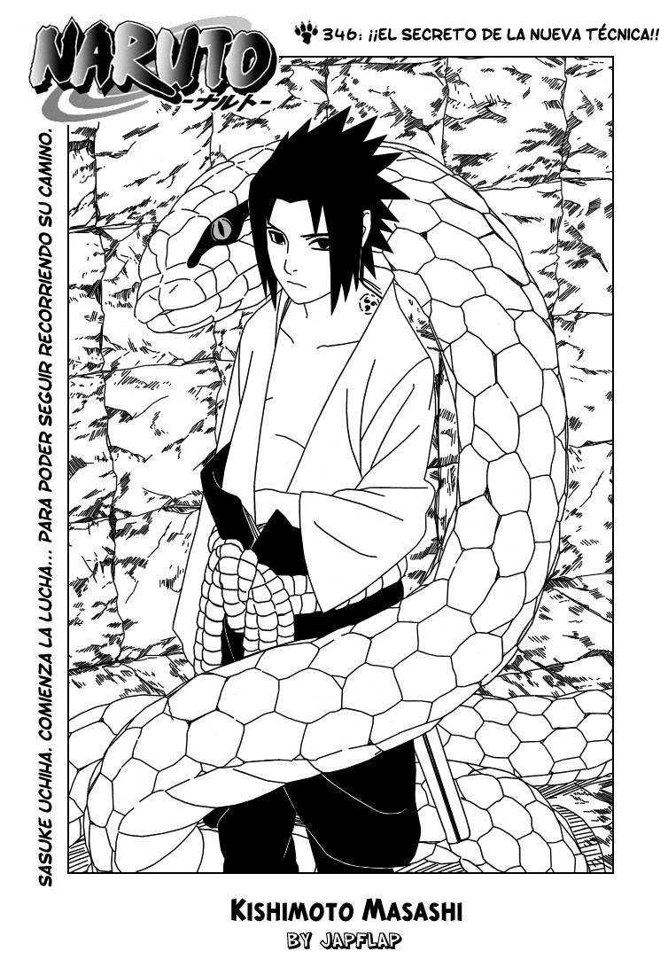 Naruto Shippuden Manga 346