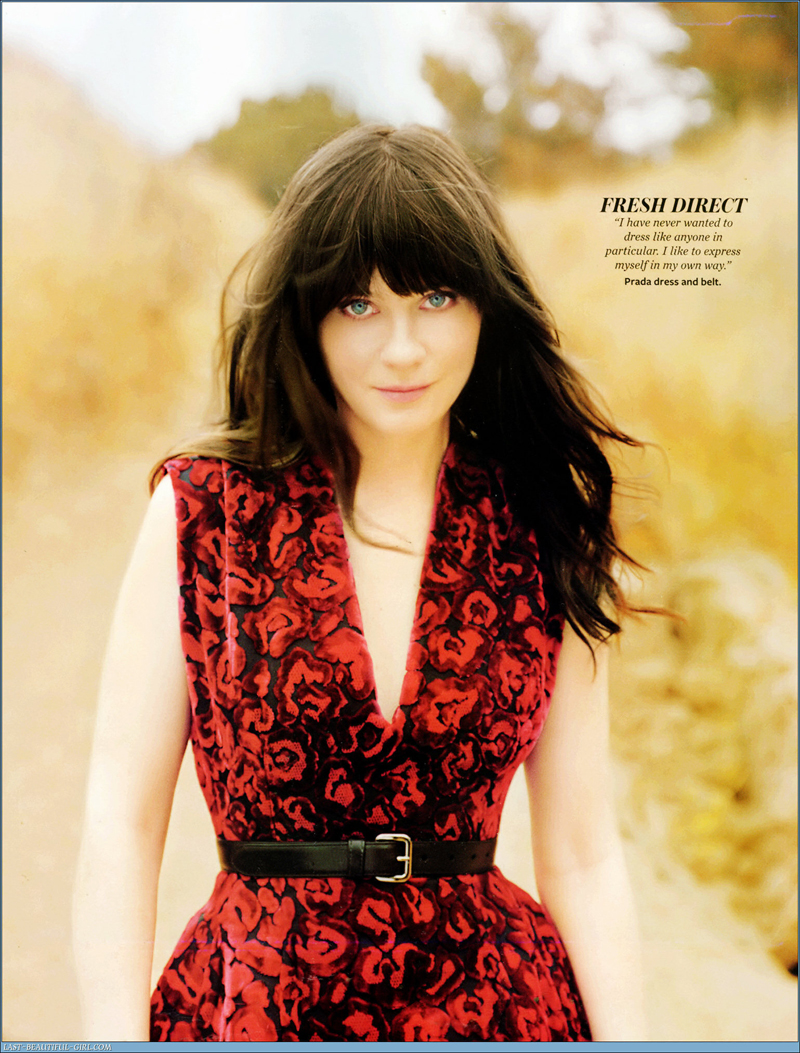 Fresh Look Celebrity Zooey Deschanel Hairstyles 56