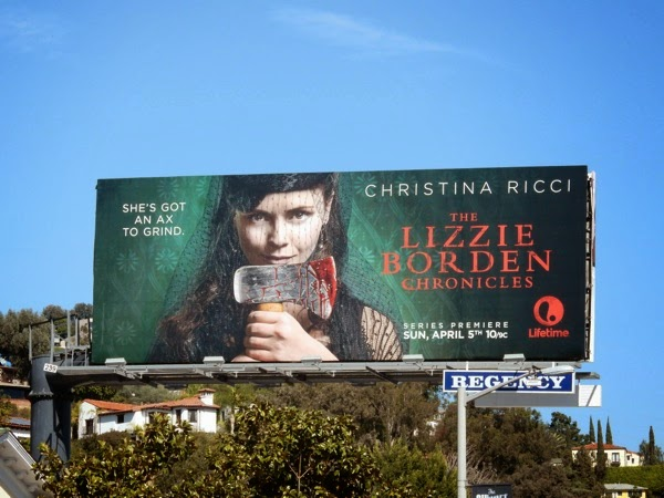 Christina Ricci Lizzie Borden Chronicles billboard
