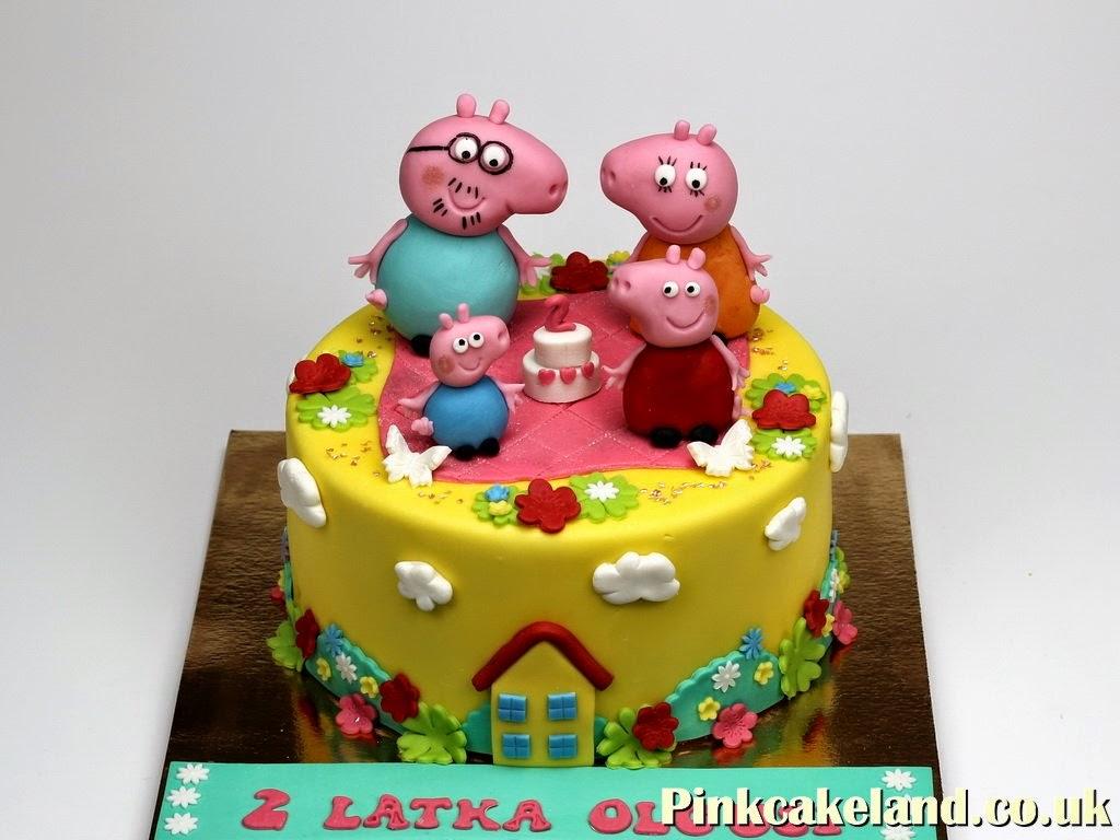 Peppa Pig Birthday Cake Ideas Childrens Birthday Cakes In London