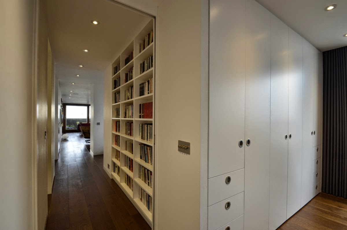 Furniture for flats Open Plan And Other Fitted Furniture For Clients In The Barbican Estate Scroll Down To See Selection Of This Work Click On Any Image To View As Slide Show Dezeen Thomson Brothers At The Barbican Wardrobes And Fitted Furniture In