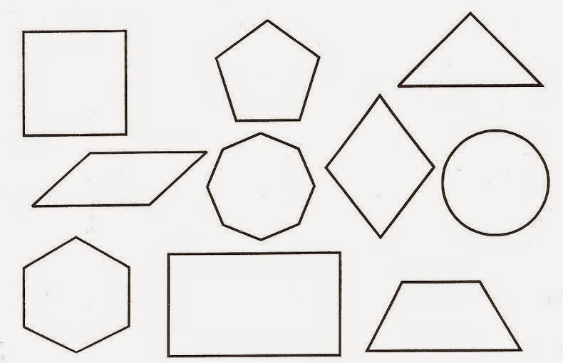 Dibujos para colorear. Maestra de Infantil y Primaria.: Figuras ...