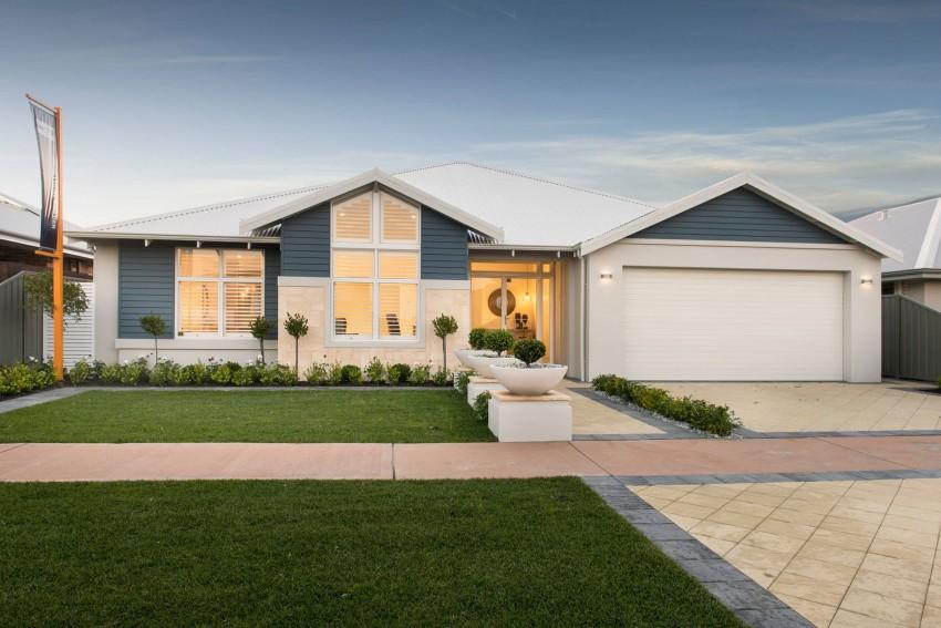 Classic Home Design : Modern The Hampton Beach by WA Country Builders