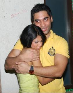 Jenniffer with Kushal Punjabi