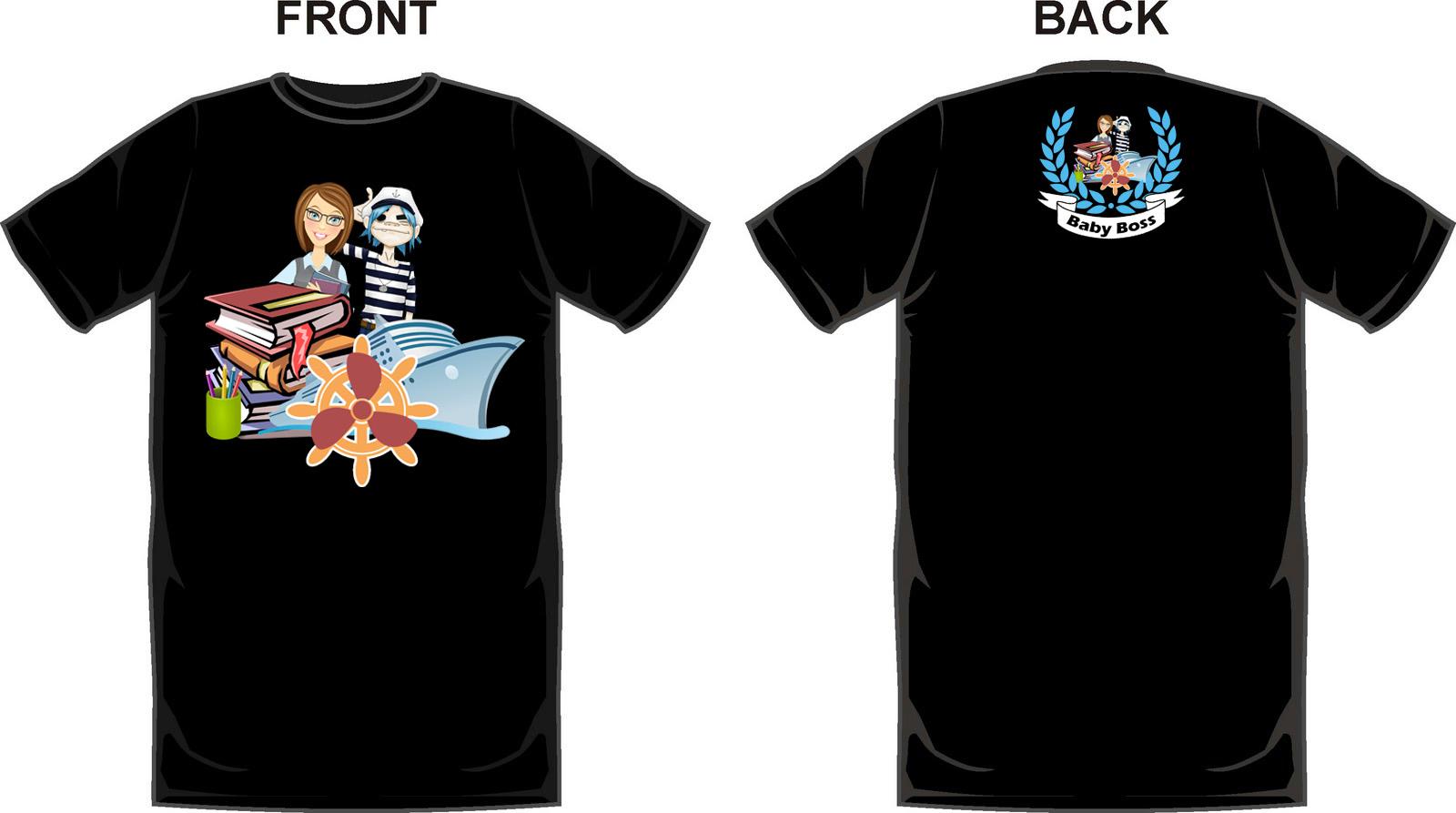 Design t shirt back - Design T Shirt Engineering Front And Back Design