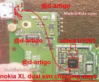 Solve your Nokia Charging Problem if your mobile phone water demesne problem check this solution you  can solve your problem easily. check this line and use copper coil to re connect this line. done.