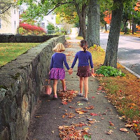 Hand in Hand Fall Foliage Girls New England Fall Events