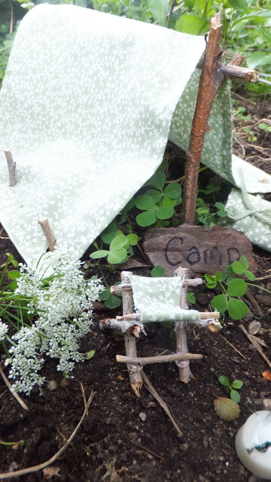 Ash Tree Cottage A Fairy Garden Camping Trip And Tale