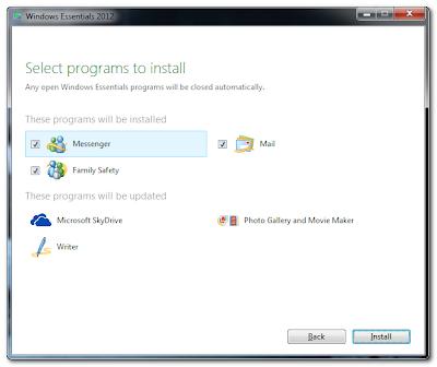 Windows Essential 2012