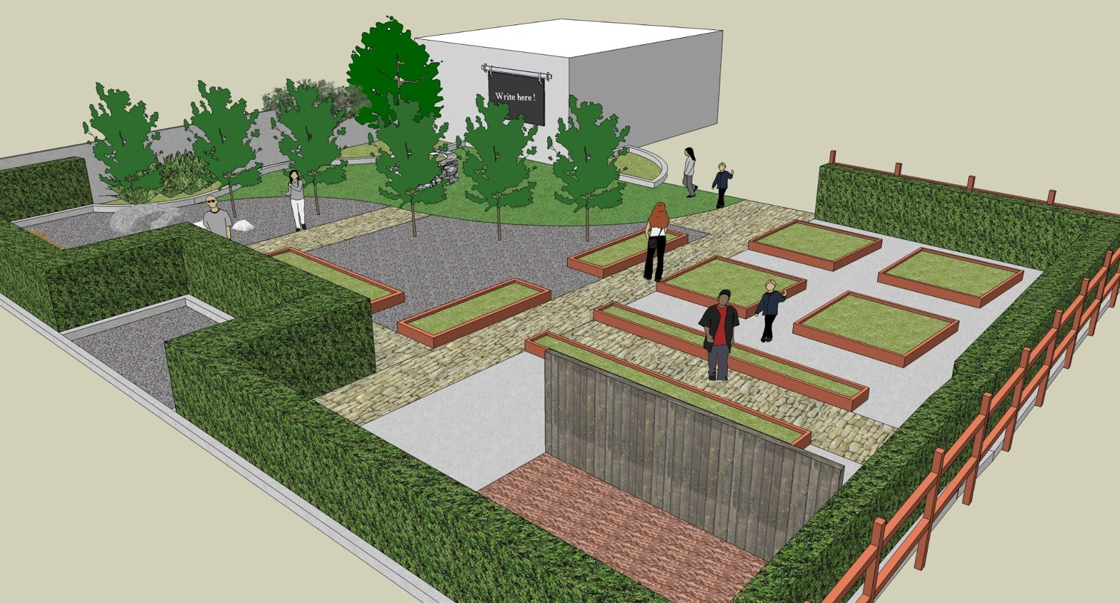 School garden design gannon griffin landscape architecture for School garden designs