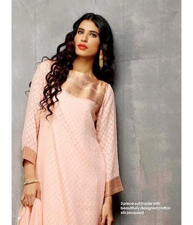 Ready to Wear Eid Collection 2014 by Alkaram