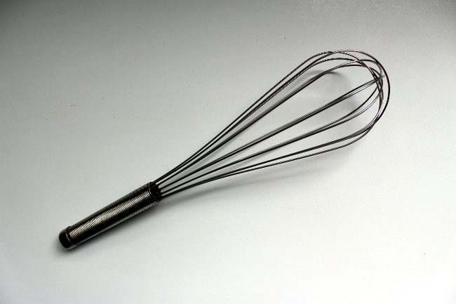 thrift stainless steel whisk