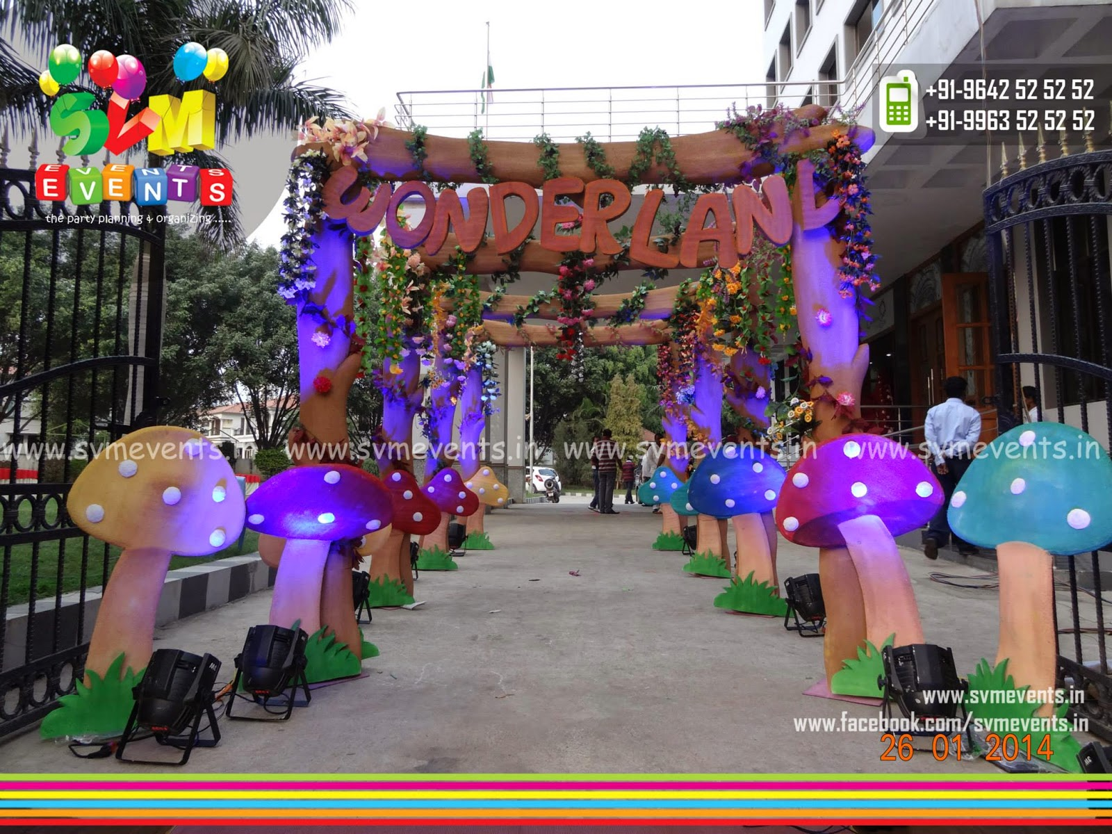 Svm events all type of 3d backdrops balloon for 3d decoration for birthday