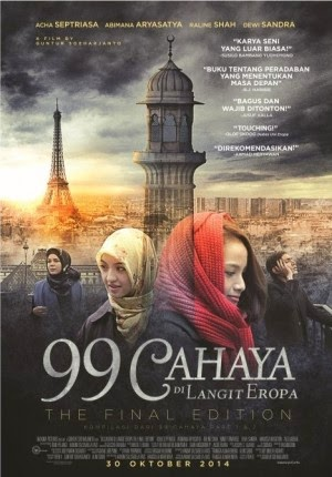 Film 99 Cahaya Di Langit Eropa The Final Edition 2014 di Bioskop
