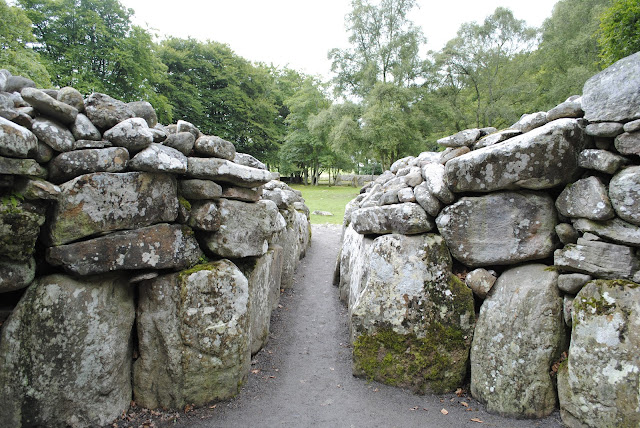 Clava Cairns, Near Culloden Battlefield, Inverness, Scotland,