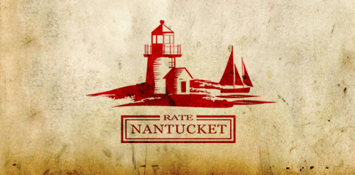 Logótipos Vintage - Rate Nantucket - Draward