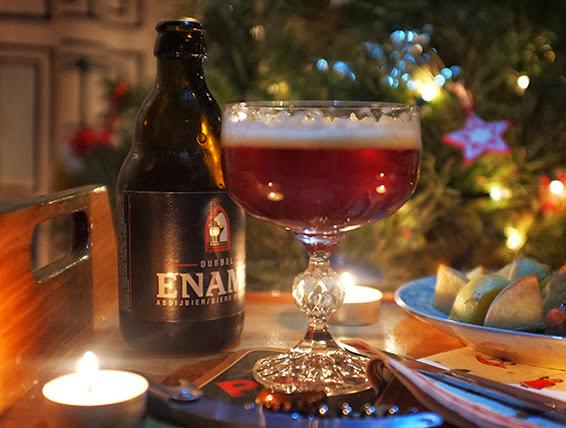 Бельгийское пиво Ename dubbel  энейм дюббель