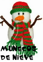http://patronesjuguetespunto.blogspot.com.es/2014/06/patrones-munecos-de-nieve.html