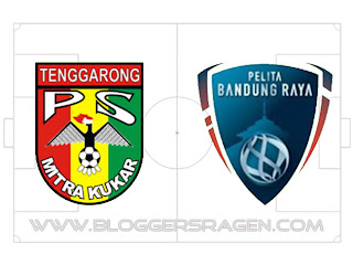 Pertandingan Pelita Bandung Raya vs Mitra Kutai Kartanegara