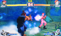 Street Fighter 4 3D Versus