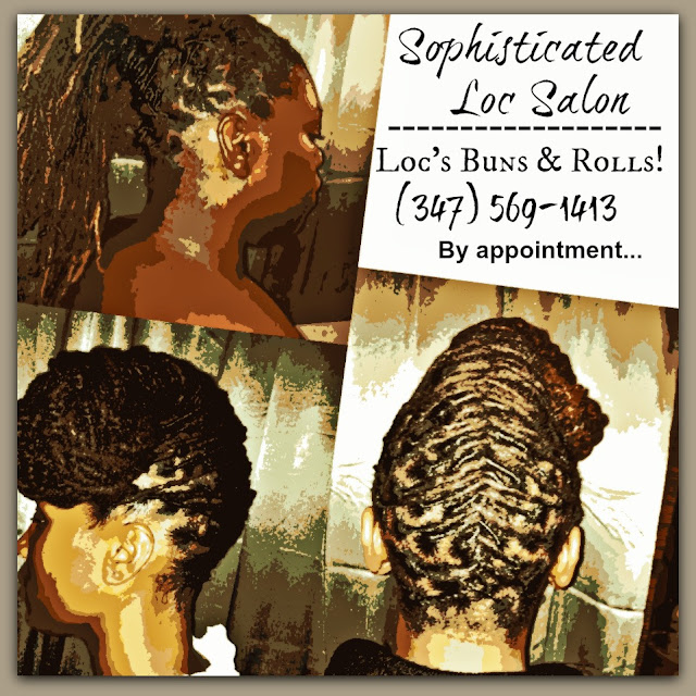 CALL Sophisticated Locs At 347-569-1413 To Book Now!