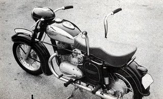 Dual Controls On Motorcycle (Sep, 1949) | Jawa Training Motorcycle | Training Motorcycle