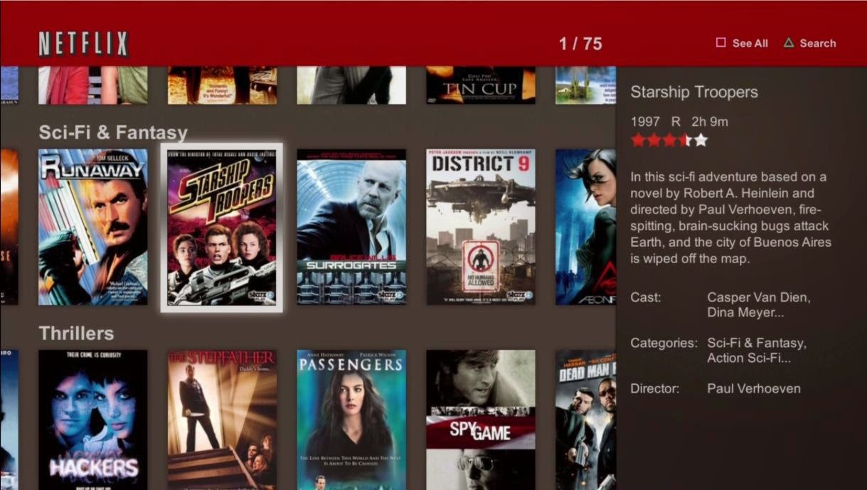 Netflix Download Ps3