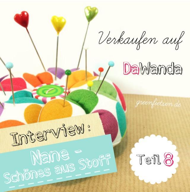 """Interview - """"Nane"""" über das Verkaufen auf DaWanda #8"""