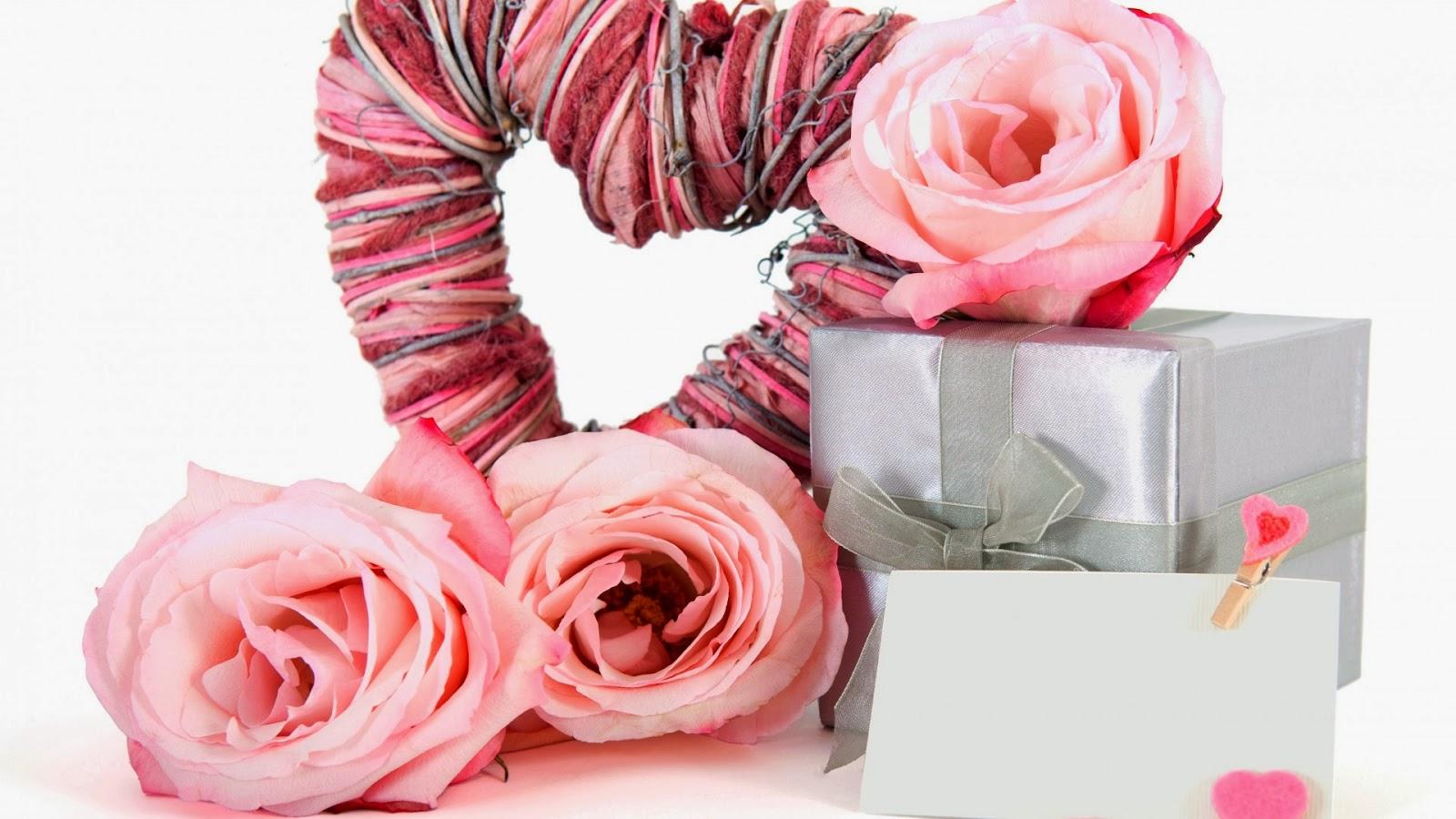 Ramos de Flores Rosadas para San Valentín