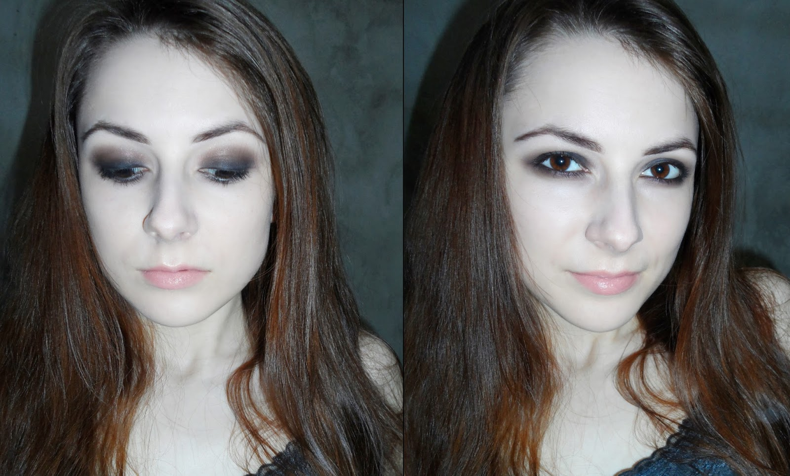 easy smokey eyes brown black makeup tutorial blogger pictures