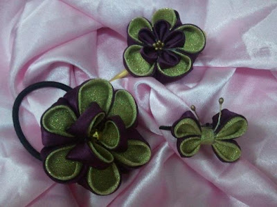 kanzashi, accessory, getah rambut, hair band, brooch, hijab, tudung