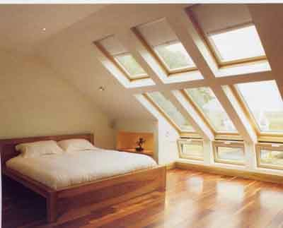 VELUX windows blings bedroom