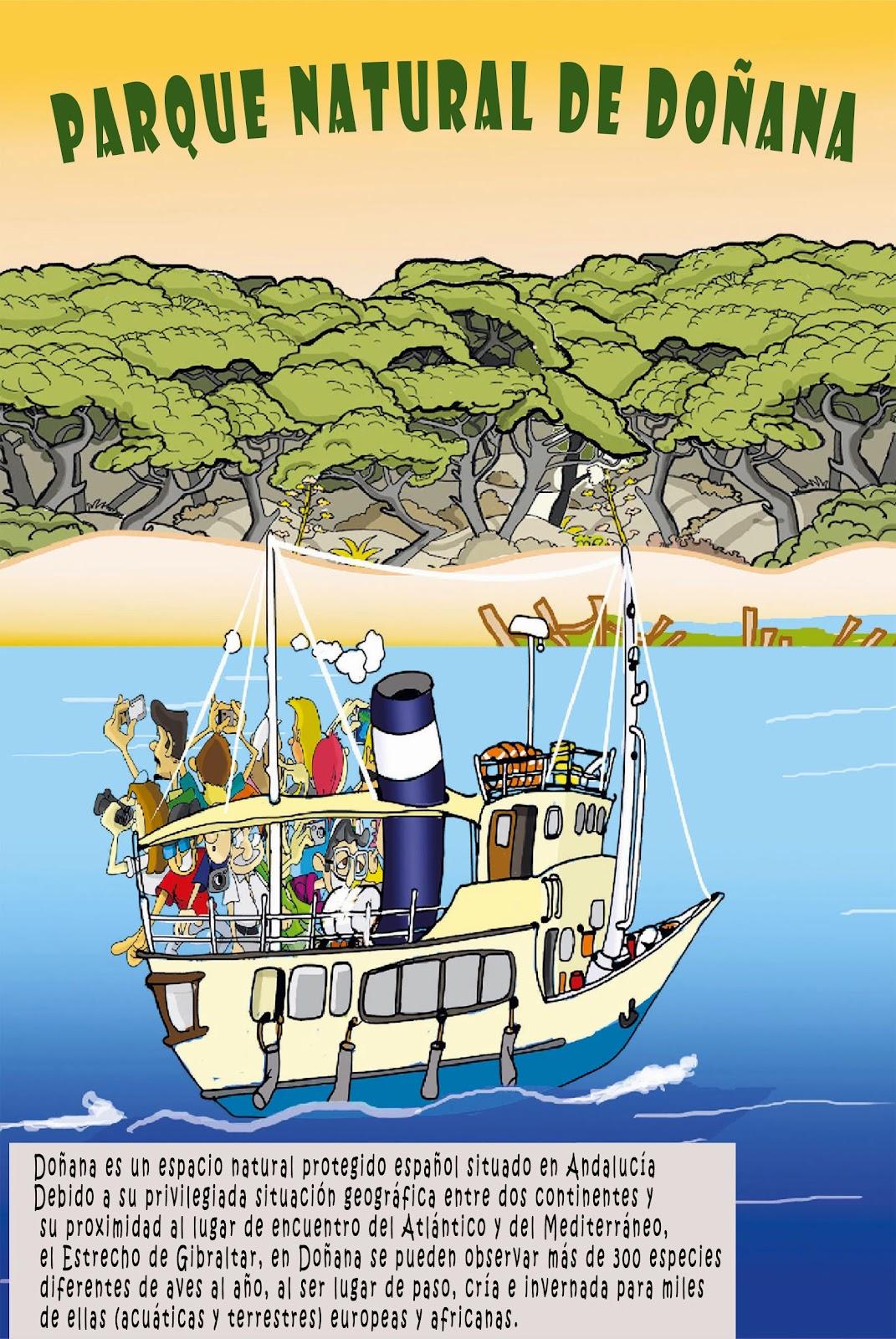 """<img src=""""Entra en Doñana.jpg"""" alt=""""Parques Naturales en dibujo""""/>"""